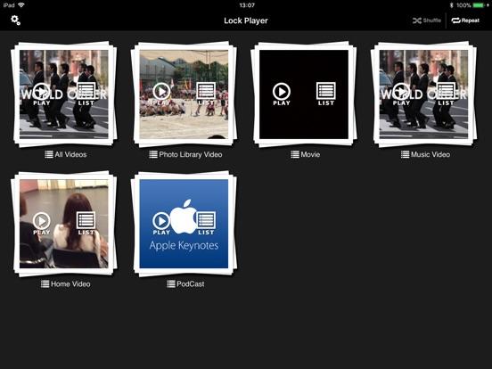 Lock Player Screenshots