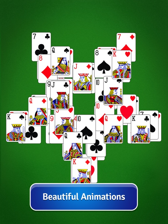 Screenshots of Pyramid Solitaire - Card Game for iPad