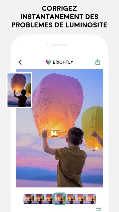 Screenshot #2 pour Brightly - Corriger les photos
