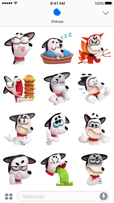 Max the Husky Stickers screenshot 3