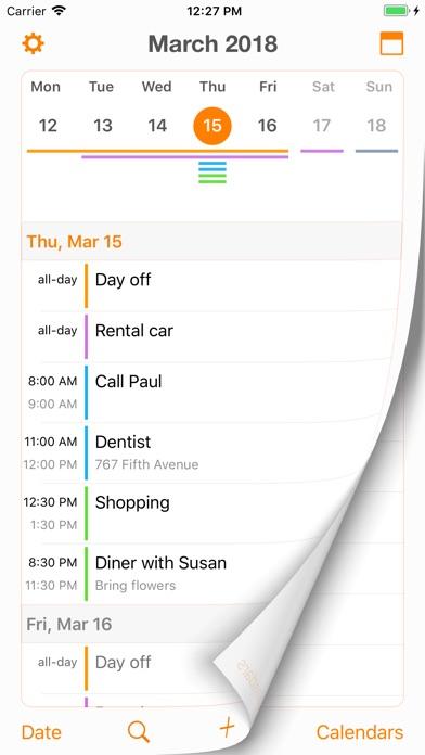 Page Calendar 앱스토어 스크린샷