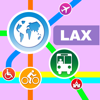 Los Angeles City Maps - Discover LAX MRT & Guides