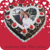 Anniversary Cake Photo Frame - Photo Name On Cake Wiki