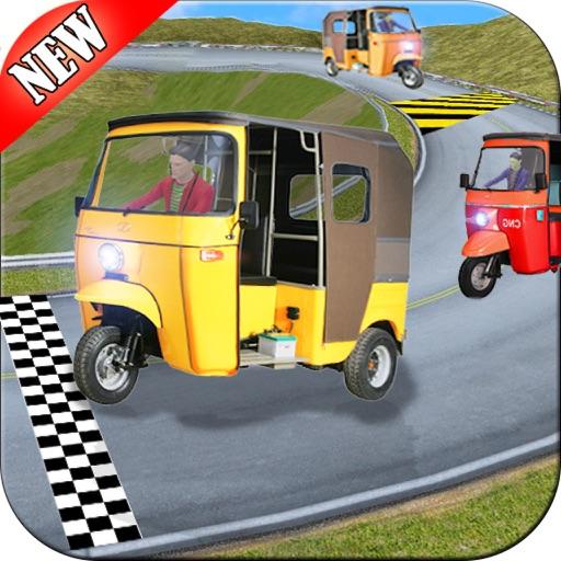 Modern CNG Rickshaw Racing Game - Pro iOS App