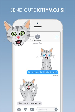 KittyMojis - Kitty Emojis and Stickers screenshot 4