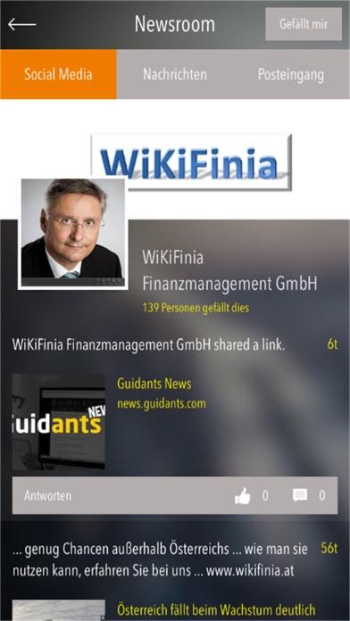 Screenshot von WIKIFINIA2