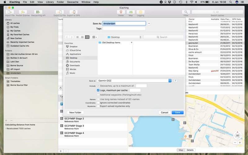 iCaching Screenshots