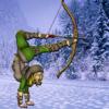 eduardo forero - Acrobat Master With Bow And Great Aim  artwork