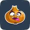 Animated Cute Onion Stickers for Messaging