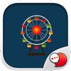 Amusement Park Stickers & Keyboard By ChatStick