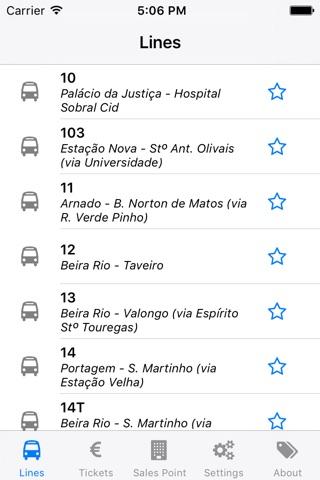 Transportes Urbanos de Coimbra screenshot 2