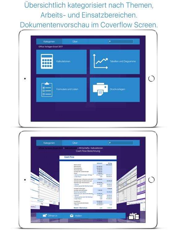 Kalkulations-Vorlagen für Microsoft Excel Ed. 2017 Bei Appsmaker ...