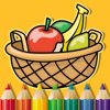 Fruits Coloring Book Page Game For Kids Edition Wiki