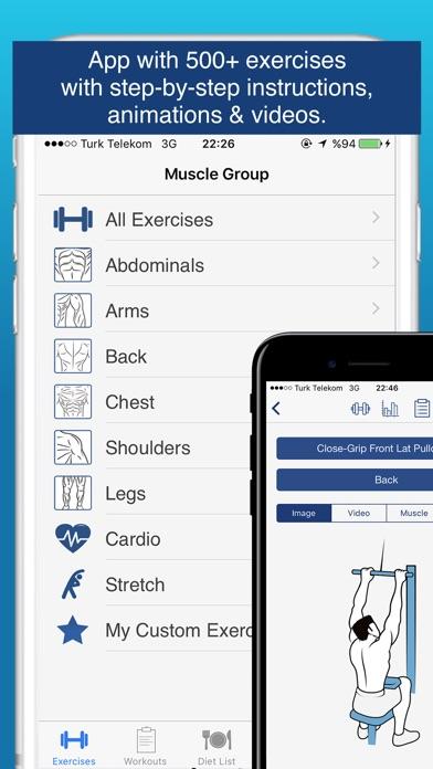 Fitness Plus Pro - Workout Exercises Screenshot