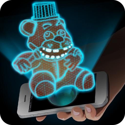 Hologram Freddy 3D Simulator iOS App