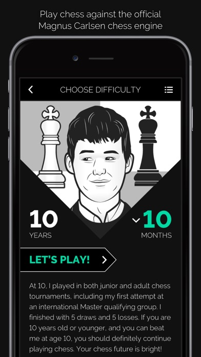 "Magnus Trainer"" - Learn and Play Chess with Magnus Carlsen! 392x696bb"