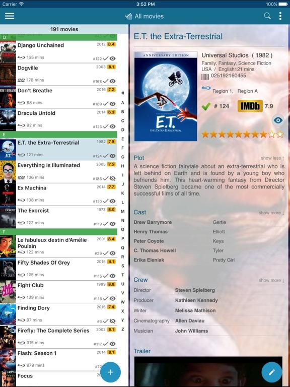 CLZ Movies - Movie Collection Database Screenshot