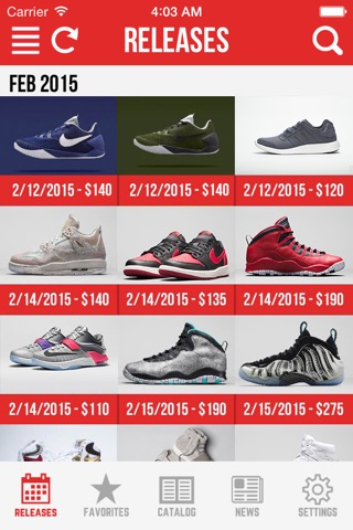 Sneaker Crush Pro: Air Jordan & Nike Release Dates screenshot 1