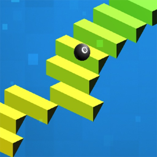 Stairs Ball Rolling - Bounce Sky iOS App