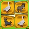 Farm Animals Play Memory Flash Cards memory