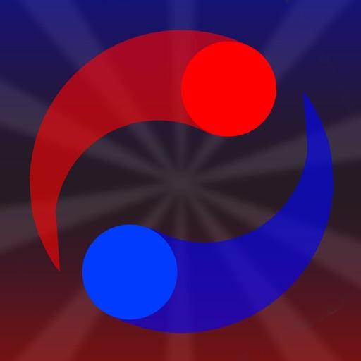 Doublo - duel ball drop blocks duetty game