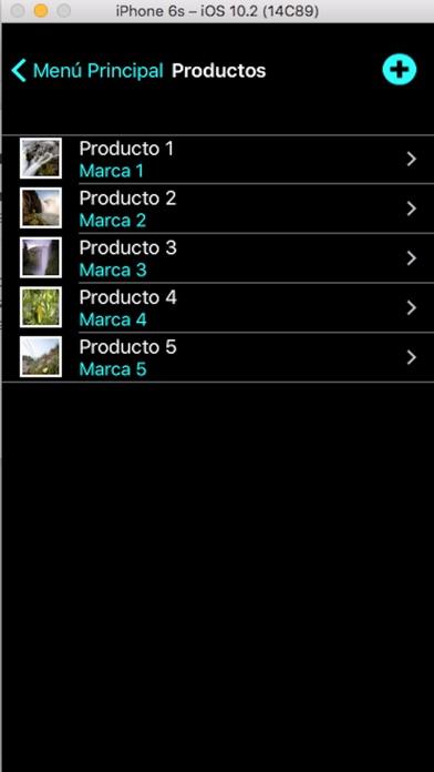 Screenshot von MyStock2