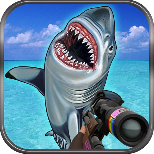 Flying Hungry Shark Endless Shooting Sniper Games iOS App