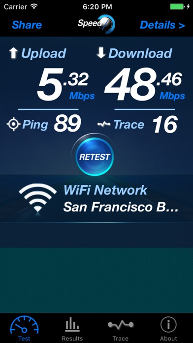 Internet Speed Pro - Mobile Screenshot