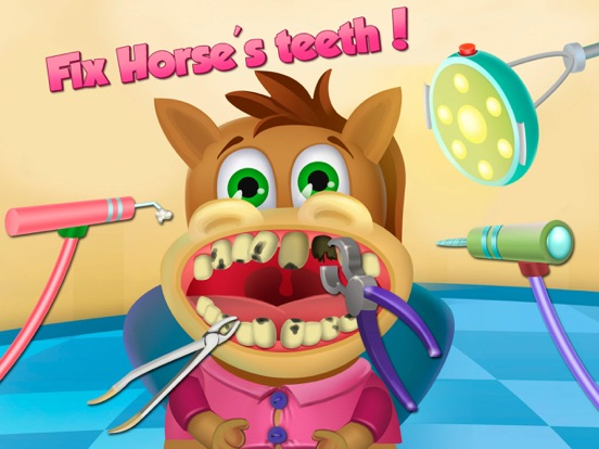 Little Buddies – Animal Hospital, Dentist Office на iPad