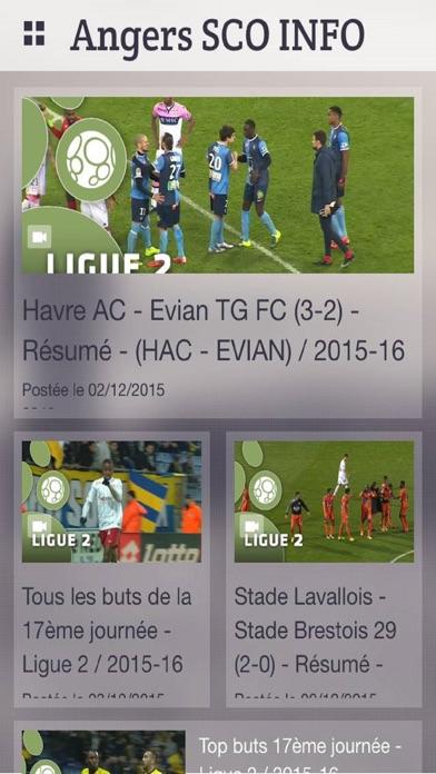 Angers Sco L'info gratuite en continuCapture d'écran de 3