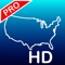Aqua Map USA HD app icon