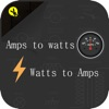 Watts to Amps And Amps to Watts Calculator