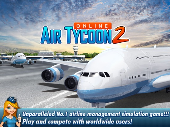 Screenshot #1 for AirTycoon Online 2.