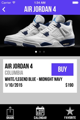 Sneaker Crush - Air Jordan & Nike Release Dates screenshot 2