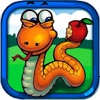 Snake Eat Peas - Single Snake game