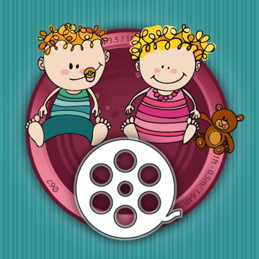 宝宝成长史:BabyFilm – Your kids growing up in time lapse