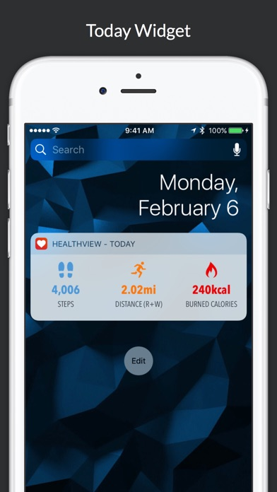 HealthView Screenshots