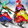 Snow Mobile Road Fight - SnowMobile Race 4 Kids road speed wanted