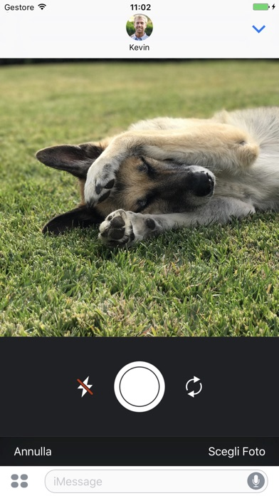 Screenshot of StickyCam2