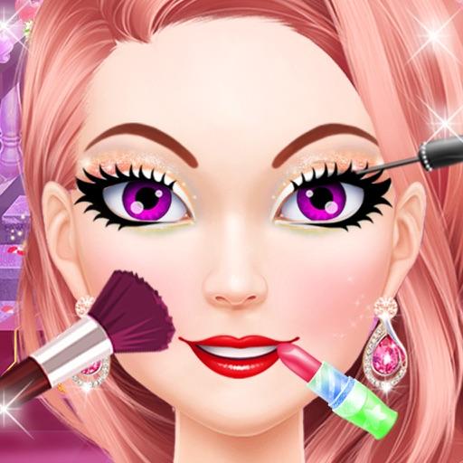 Fashion Party Salon Makeover Icon