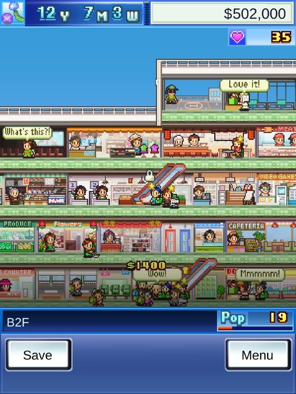Mega Mall Story iOS Screenshots