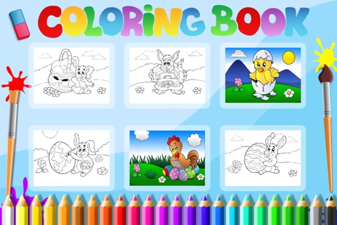 Preschool! Learning Games • Easter Match & Puzzle screenshot 4