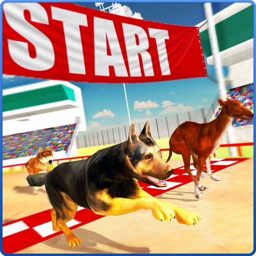 Dog Racing Stunt & Jump 3D Sim iOS App