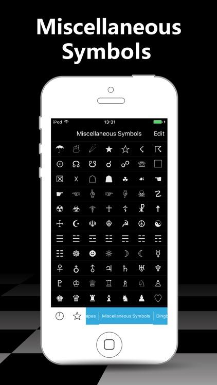 Symbol Keypad For Texting By Jianwen Liang