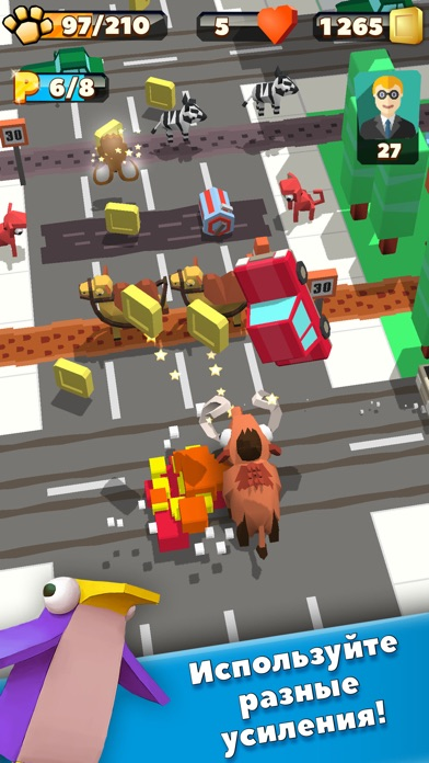 Wild City Rush - Urban Jungle Adventure Screenshot