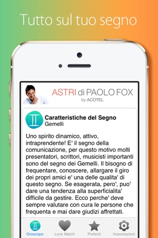 Astri di Paolo Fox screenshot 4