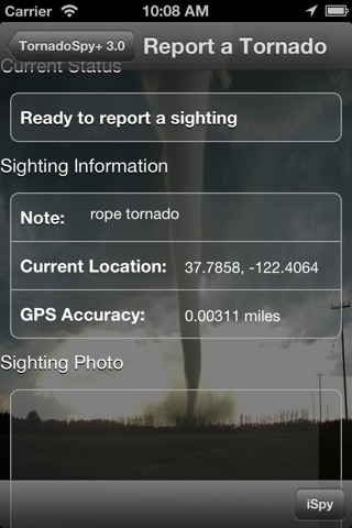 TornadoSpy+: Tornado Maps, Warnings and Alerts screenshot 2