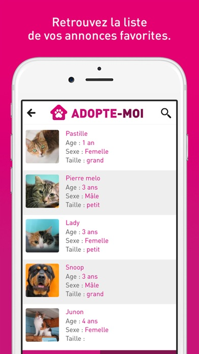 download Adopte-moi - Chiens et chats à adopter apps 3