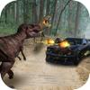 Car Vs Dino Sim : Jurassic Dinosaur Safari Hunter