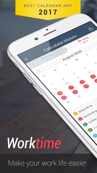 Screenshot von WorkTime: Arbeitszeit Kalender1